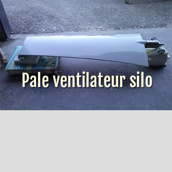pale ventilateur silo